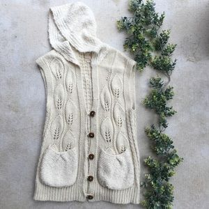 Anthropologie Far Away From Close Cardigan Sweater